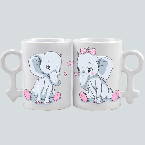 Pareja Elefantes