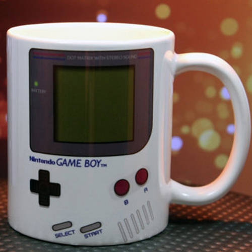 Taza Game Boy